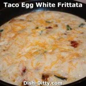 Taco Egg White Frittata
