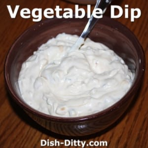 Vegetable Dip