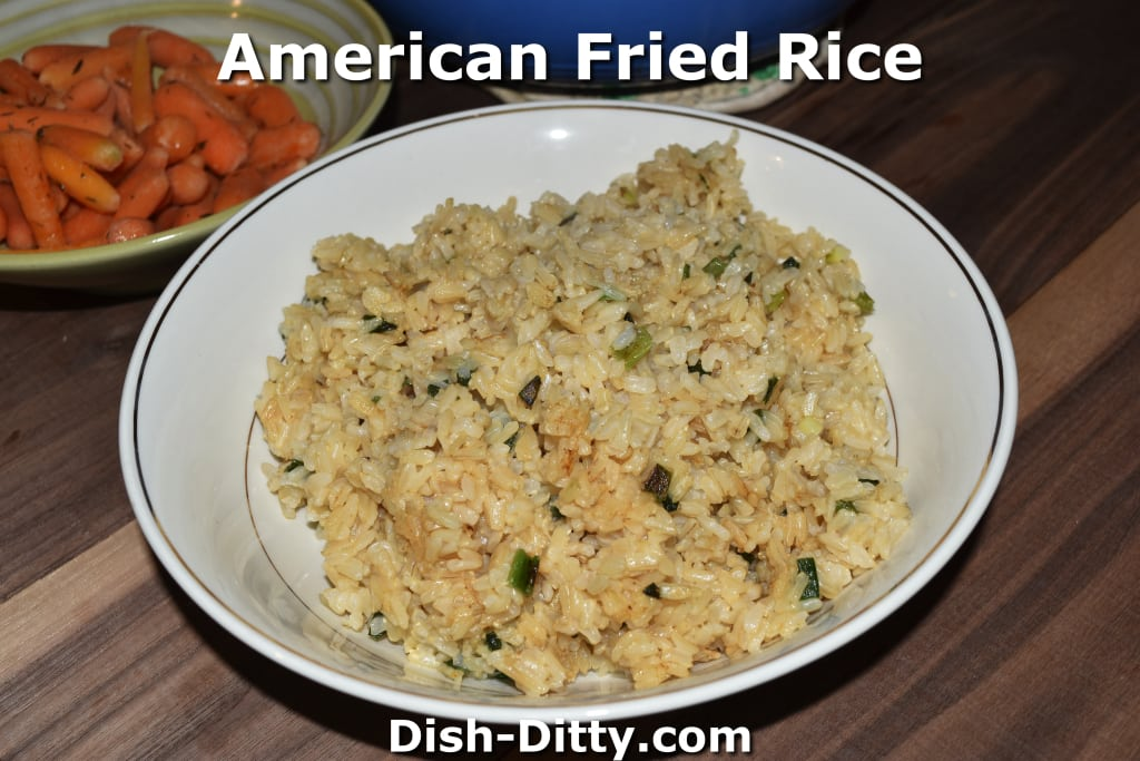American Fried Rice by Dish Ditty Recipes
