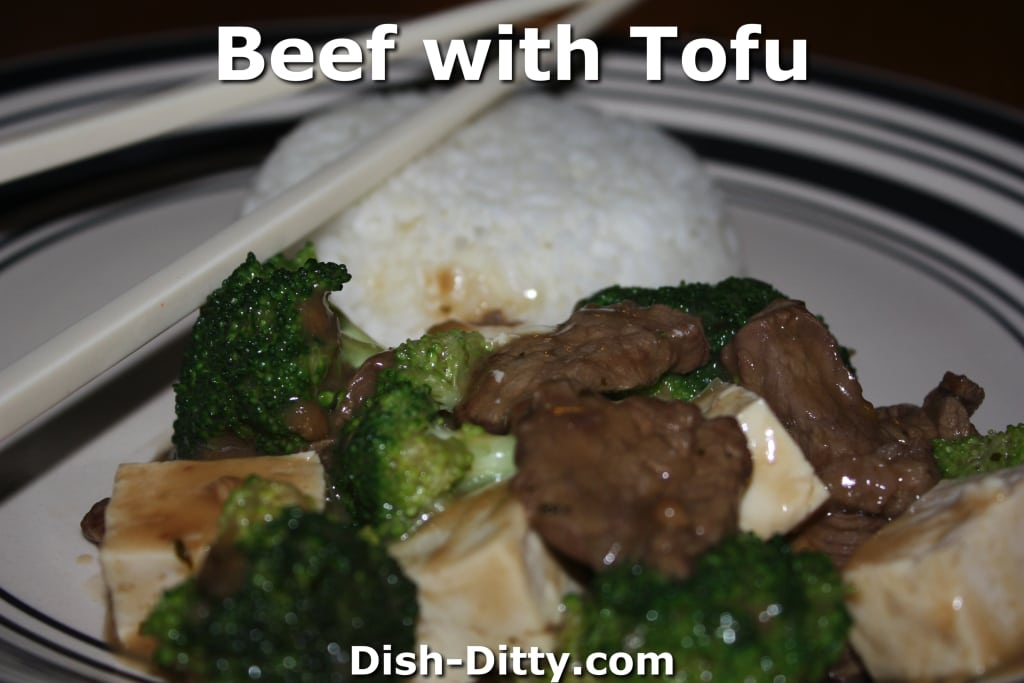 Beef with Tofu by Dish Ditty Recipes