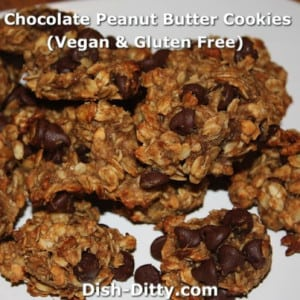 CPBB Cookies (Chocolate Peanut Butter Banana – Gluten Free & Vegan)