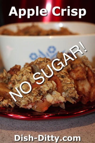 Apple Crisp (No Added Sugar) by Dish Ditty Recipes