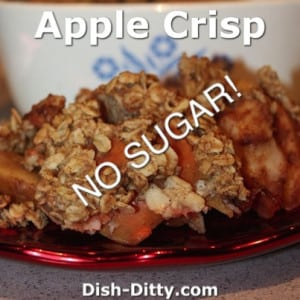 Apple Crisp (No Added Sugar)