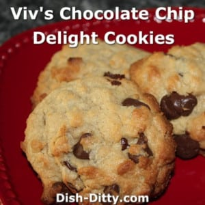 Chocolate Chip Delight Cookies