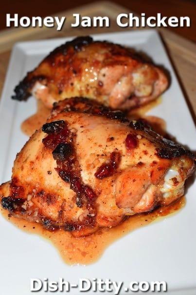 Honey Jam Chicken by Dish Ditty Recipes