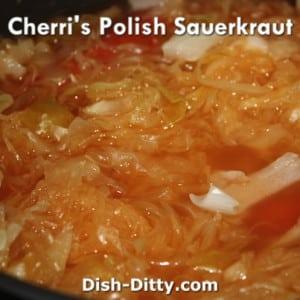 Polish Sauerkraut