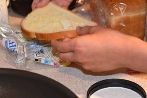 Prepare bread