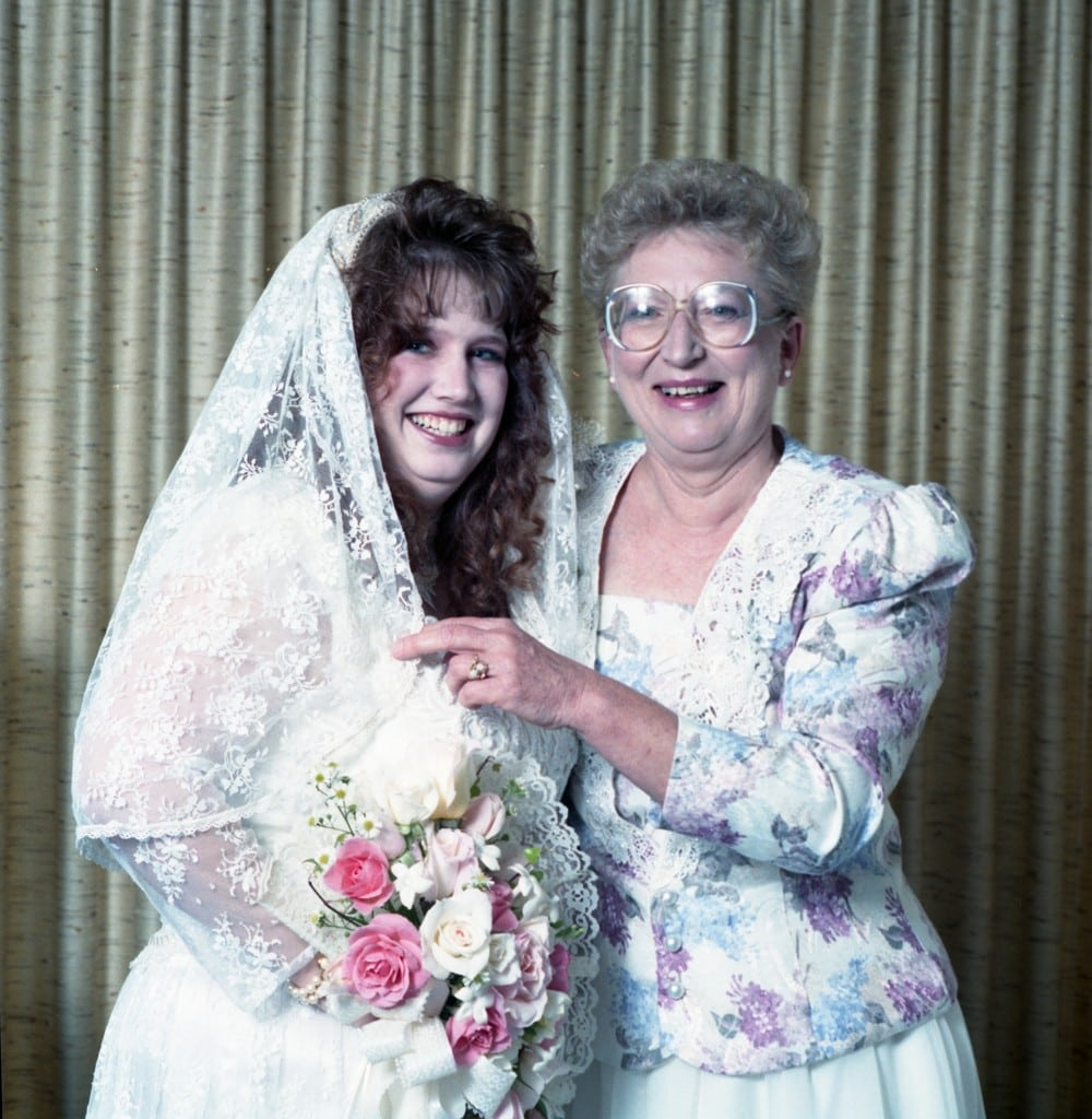 Me & my mom on my wedding day
