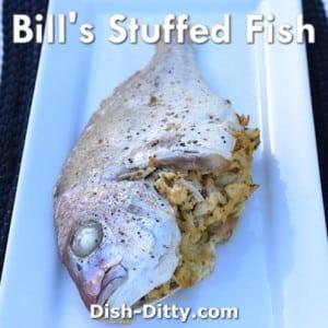 Stuffed Whole Fish