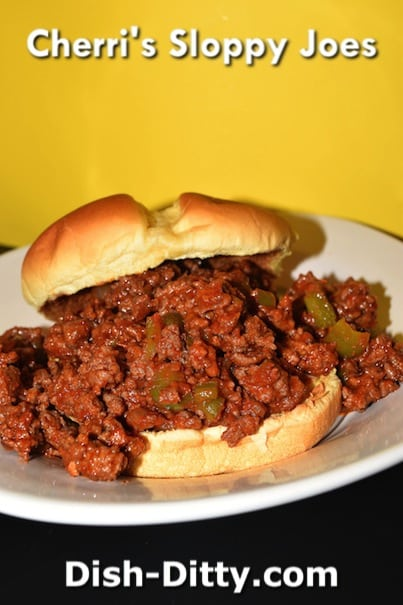 Cherri's Sloppy Joes Recipe by Dish Ditty Recipes