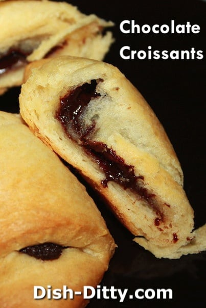 Chocolate Croissants Recipe by Dish Ditty Recipes