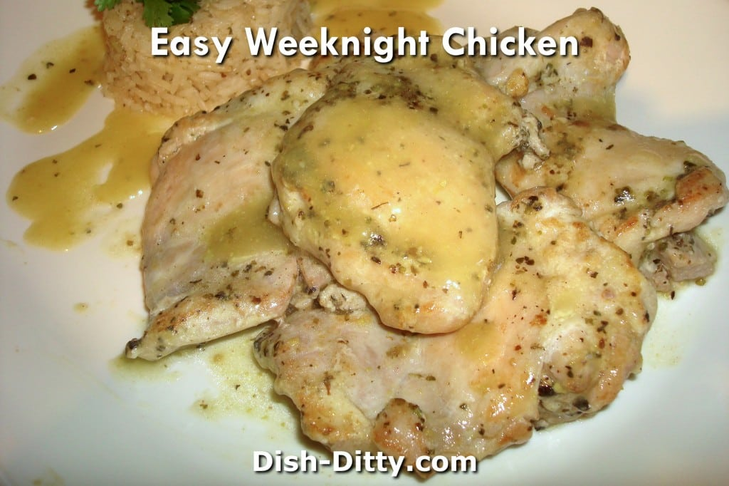 Easy Weeknight Chicken Recipe by Dish Ditty Recipes