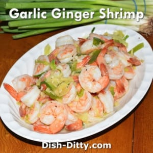 Garlic Ginger Shrimp