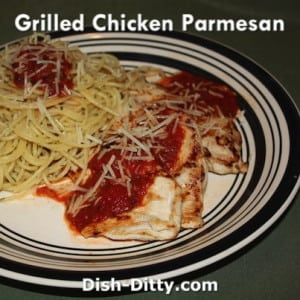 Grilled Parmesan Chicken
