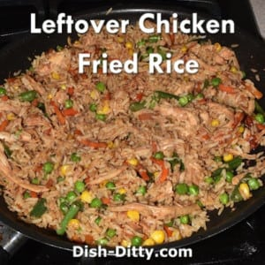 Leftover Chicken Fried Rice