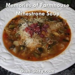 Farmhouse Minestrone Soup