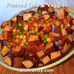 Pressed Tofu & Veggies
