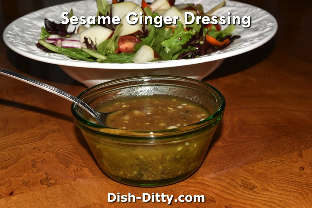 asian ginger sesame dressing recipe