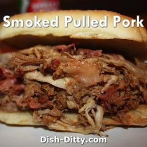 Smoked Pulled Pork