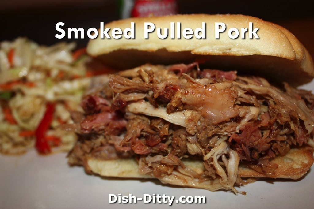 Smoked Pulled Pork Recipe by Dish Ditty Recipes