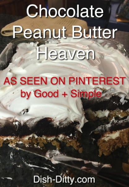 Chocolate Peanut Butter Heaven As Seen on Pinterest