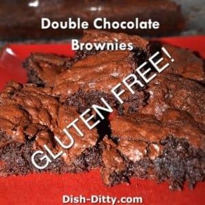 Double Chocolate Gluten Free Brownies