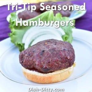 Tri-Tip Seasoned Hamburgers