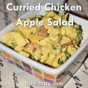 Curried Chicken Apple Salad