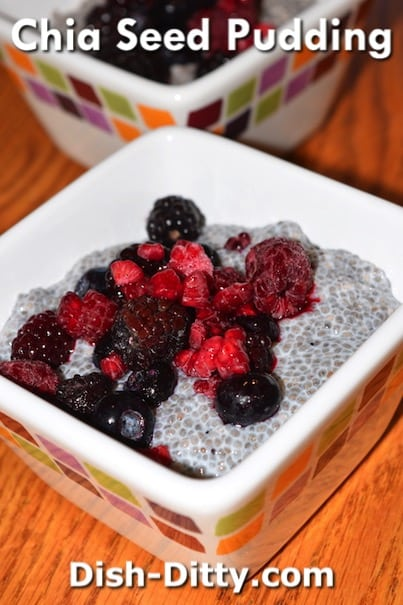 Chia Seed Pudding Recipe by Dish Ditty Recipes