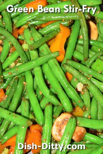 Green Bean Stir-Fry Recipe by Dish Ditty Recipes