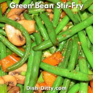 Green Bean Medley Stir-Fry