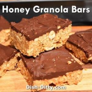 Honey Granola Bars