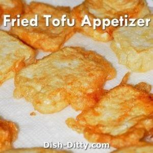 Fried Tofu Appetizer