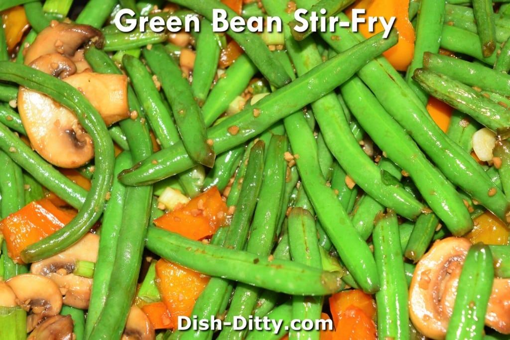 Green Bean Stir-Fry Recipe by Dish Ditty Recipes