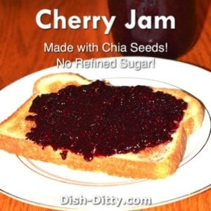Cherry Chia Jam