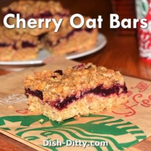 Dark Cherry Oat Bars