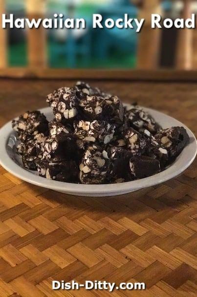 Hawaiian Rocky Road Candy Recipe by Dish Ditty Recipes