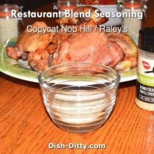 Restaurant Blend Seasoning