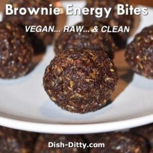 Brownie Energy Bites (Vegan)