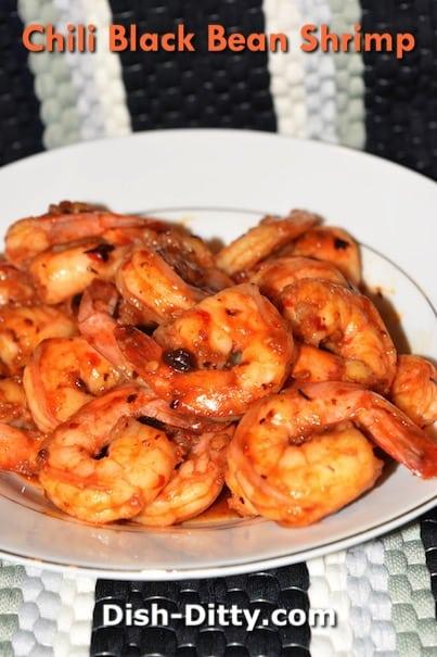 Chili Black Bean Shrimp Recipe by Dish Ditty Recipes