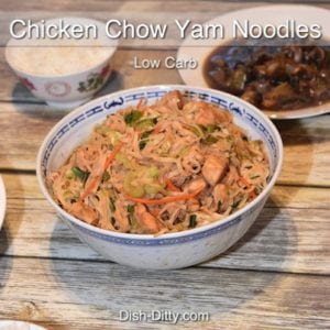 Chicken Chow Yam Noodles