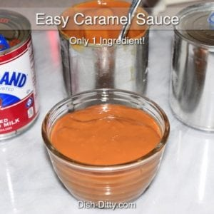 Easy One Ingredient Caramel Sauce