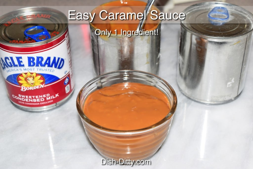 Easy Caramel Sauce Recipe by Dish Ditty Recipes