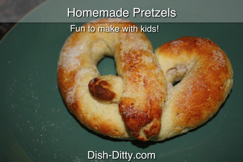 Homemade Pretzel Recipe by Dish Ditty Recipes