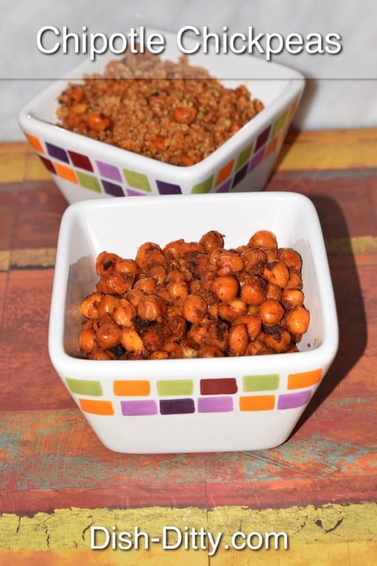 Chipotle Chickpeas Recipe by Dish Ditty Recipes