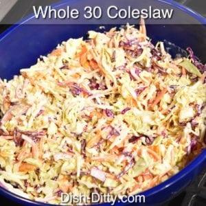 Whole 30 Coleslaw