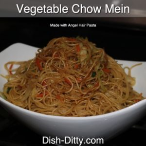 Angel Hair Vegetable Chow Mein