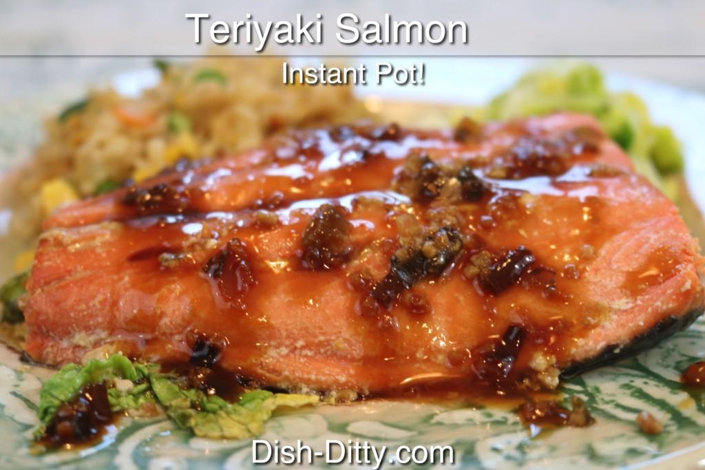 Instant Pot Teriyaki Salmon Recipe by Dish Ditty Recipes