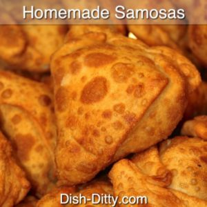 Homemade Indian Samosas