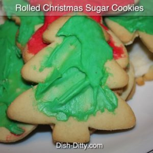 Cherri's Rolled Christmas  Sugar Cookies